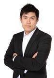 azjatykci biznesowy mężczyzna Fotografia Royalty Free
