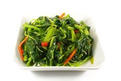 azjatykci chiński kucharstwa dłoniaka fertania stylu warzywo Zdjęcie Royalty Free