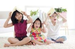 azjatykci dzieci fotografia stock