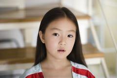 azjatykci dziewczyna portret Zdjęcia Stock