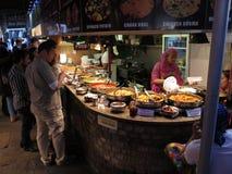 azjatykci jedzenie Fotografia Royalty Free