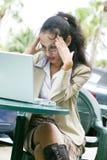 azjatykci kobiety jednostek gospodarczych young Obraz Stock