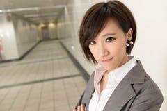 azjatykci kobiety jednostek gospodarczych young Zdjęcia Stock