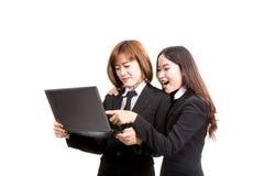 azjatykci kobiety jednostek gospodarczych young Obrazy Stock
