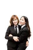 azjatykci kobiety jednostek gospodarczych young Fotografia Royalty Free