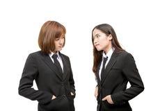 azjatykci kobiety jednostek gospodarczych young Zdjęcie Royalty Free