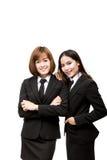 azjatykci kobiety jednostek gospodarczych young Obrazy Royalty Free