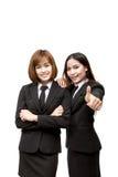 azjatykci kobiety jednostek gospodarczych young Obraz Royalty Free