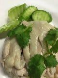azjatykci kurczaka zbliżenia Hainan ryż styl Zdjęcia Stock