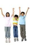 azjatykci śliczne dzieci Obraz Royalty Free