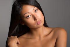 azjatykci młodych kobiet Zdjęcie Royalty Free