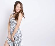azjatykci piękni portreta kobiety potomstwa Zdjęcie Stock