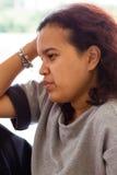 azjatykci portret kobiety Obrazy Royalty Free