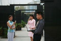 azjatykci przedsiębiorców Fotografia Stock