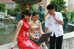 azjatykci przedsiębiorców Fotografia Royalty Free