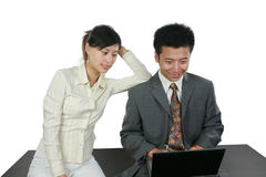 azjatykci przedsiębiorców Obrazy Stock