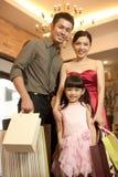 azjatykci rodzinny styl życia Obrazy Royalty Free