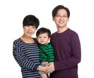 azjatykci szczęśliwa rodzina zdjęcie stock