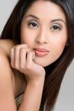 azjatykcia ładna kobieta Obrazy Royalty Free