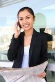 azjatykcia biznesowa ładna kobieta Obrazy Stock