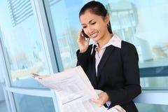 azjatykcia biznesowa ładna kobieta Fotografia Stock