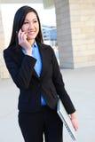 azjatykcia biznesowa ładna kobieta Fotografia Royalty Free