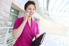 azjatykcia biznesowa ładna kobieta Zdjęcie Stock