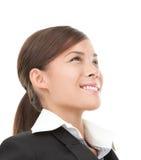 azjatykcia biznesowa kobieta Zdjęcie Royalty Free