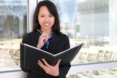 azjatykcia biznesowa kobieta Fotografia Royalty Free