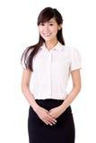 azjatykcia biznesowa kobieta obrazy royalty free