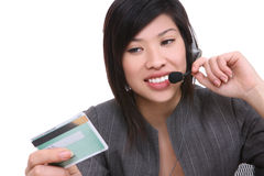 azjatykcia biznesowa kobieta Zdjęcie Stock