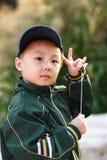 azjatykcia chłopiec zdjęcie royalty free