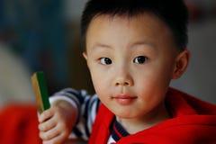 azjatykcia chłopiec fotografia royalty free