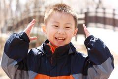 azjatykcia chłopiec zdjęcia stock