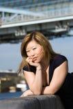 azjatykcia kobieta Zdjęcie Stock
