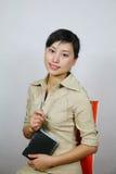 azjatykcia kobieta jednostek gospodarczych Obraz Stock