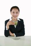 azjatykcia kobieta jednostek gospodarczych Zdjęcia Stock