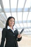 azjatykcia kobieta jednostek gospodarczych fotografia stock
