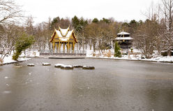 azjatykcia pagoda Obrazy Stock