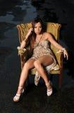 azjatykcia piękna kobieta Obrazy Royalty Free