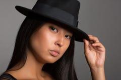 azjatykcia portret kobiety Obrazy Royalty Free