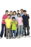 azjatykcia rodziny Zdjęcia Stock