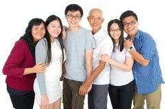 azjatykcia rodziny obrazy royalty free