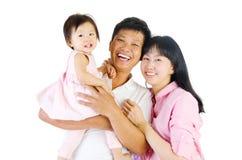 azjatykcia rodziny Fotografia Stock