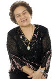 azjatykcia starsza kobieta obrazy royalty free