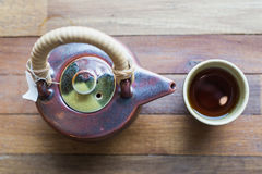 azjatykcia ustalona herbata Fotografia Stock