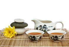azjatykcia ustalona herbata Zdjęcia Royalty Free