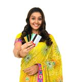 azjatykcich kart kobiety kredytowi potomstwa Zdjęcie Royalty Free