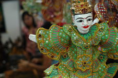 azjatykcie tradycyjnych lalki. zdjęcia stock