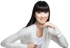 azjatykciego piękna chiński włosy tęsk chiński Obraz Royalty Free